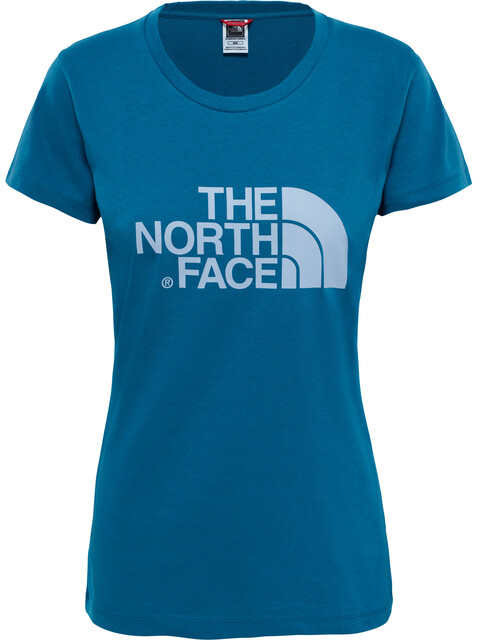 The North Face W's Easy S/S Tee Blue Coral